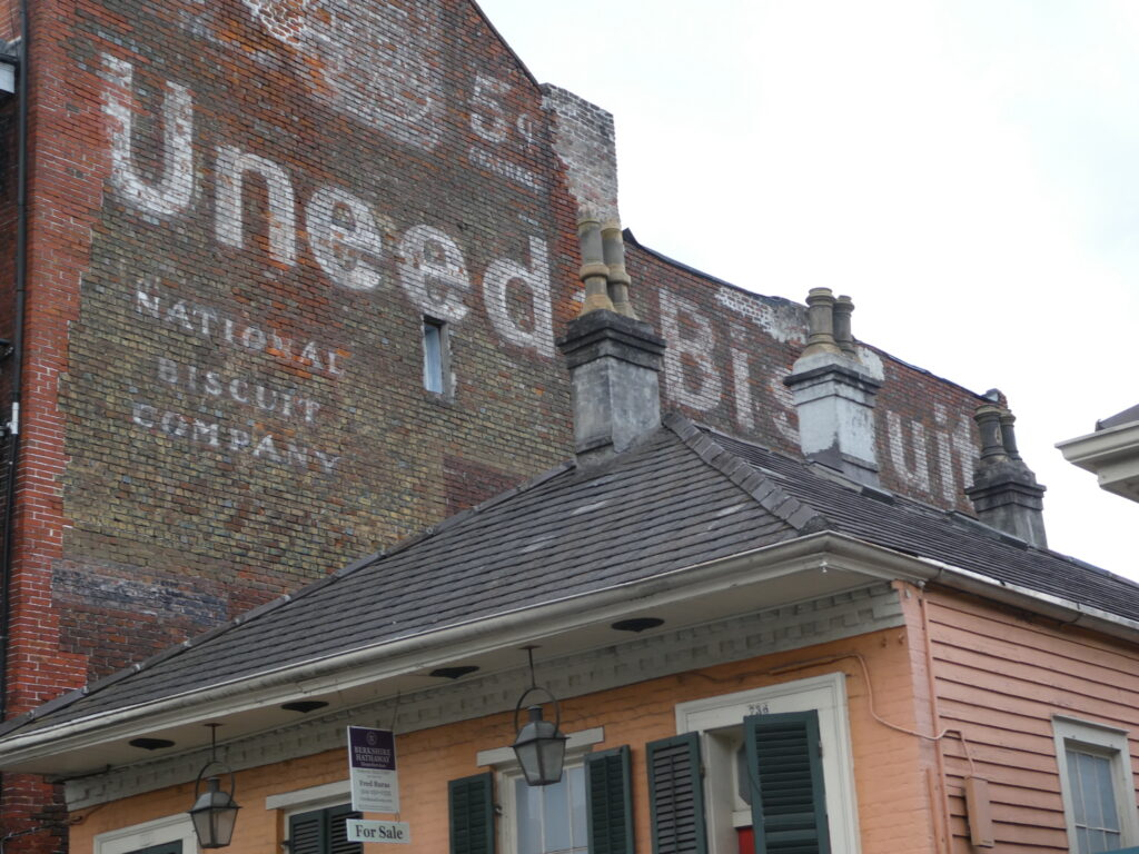 Uneed a Biscuit wall painting